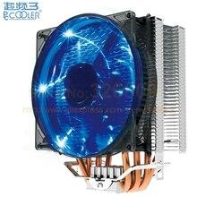 Pccooler s129 x4 процессора радиатор охлаждения вентилятор 12 см вентилятор 4pin шим для intel lga775 1150 1151 1155 1156 2011 для amd am3 + fm1 fm2