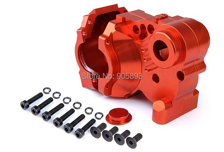 baja CNC alloy gearbox set. orange color free shippings