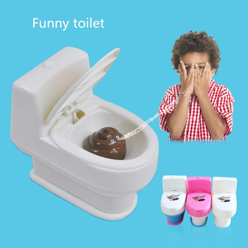 1pc New Halloween Spray Water Toilet Closestool Vent Jokes Gags Pranks Maker Trick Fun Novelty <font><b>Funny</b></font> <font><b>Gadgets</b></font> Blague Tricky Gift image