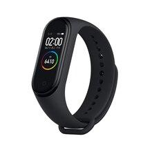 Xiaomi pulseira smartband mi band 4, original, em estoque, tela colorida, medidor de batimentos cardíacos, monitoramento de atividades esportivas, a prova d água, bluetooth 5.0