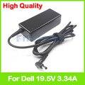 Зарядное устройство 19 5 V 3.34A для ноутбука  адаптер питания переменного тока для Dell Inspiron 13 5368 5378 7368 7378 PA-1650-02D4 043NY4 05NW44 074VT4 0G6J41
