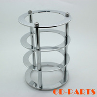 GD PARTS 1PC Chrome Plated Brass Vacuum Tube Guard Protector Cover For 300B 845 811 805
