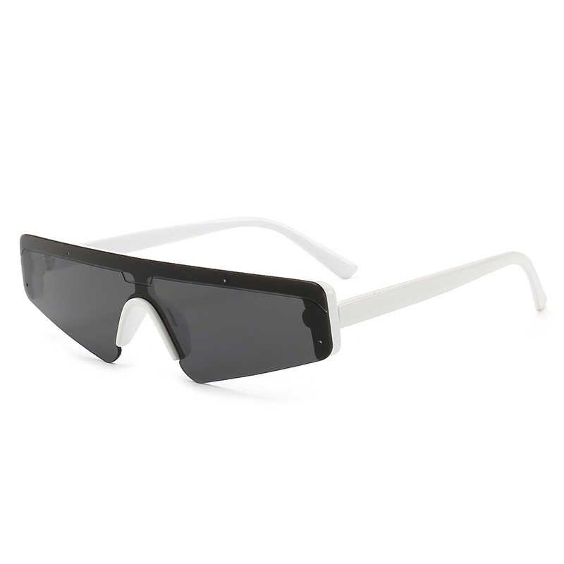 dca7faa7de2 ... Superhot Eyewear 2018 Future look one piece lens Sun glasses Small Flat  Top Sunglasses Women Fashion