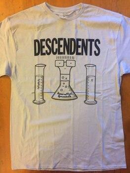 Fashion T Shirts Men'S 100% Cotton Crew Neck Short-Sleeve Descendents Hypercaffium Spazzinate Tee