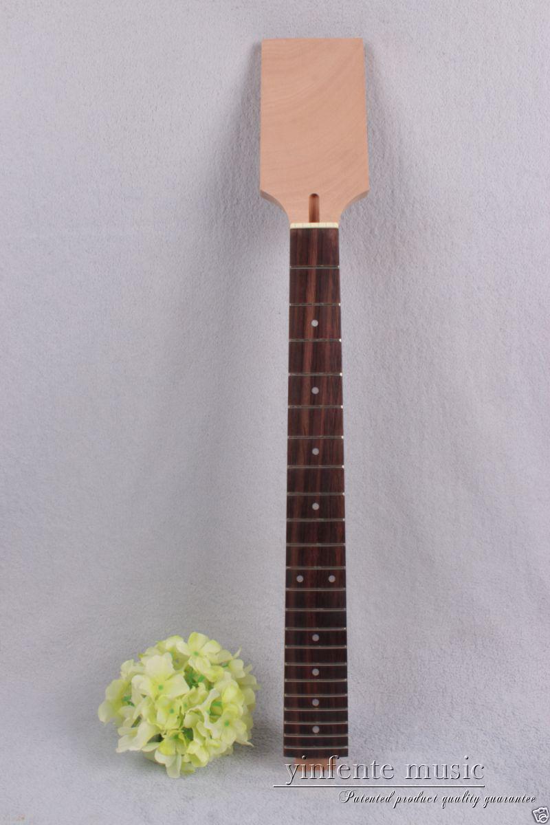 1pcs Electric guitar neck 22 fret mahogany rose Fretboard Truss Rod #888 high quality electric guitar neck truss rod adjustmrnt 440mm guitar parts wholesale