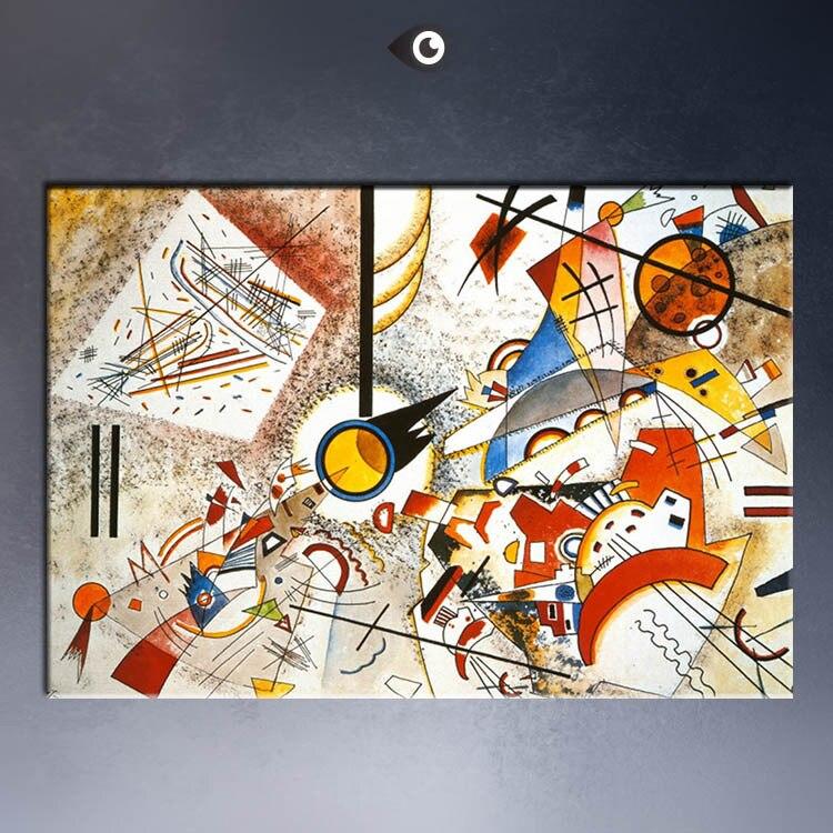 aquarell voller leben c1923 giclee poster von wassily kandinsky druckwandlgemlde bild druck auf leinwandchina - Wassily Kandinsky Lebenslauf