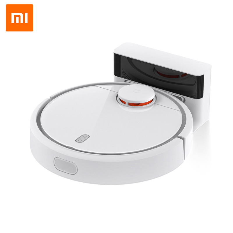 Original Xiaomi Mijia Smart Remote Control Robot Household Sweeping Automatic Efficient Vacuum Cleaner APP Control 2017 new gift with uv lamp remote control lcd display automatic vacuum cleaner iclebo arte and smart camera baby pet monitor