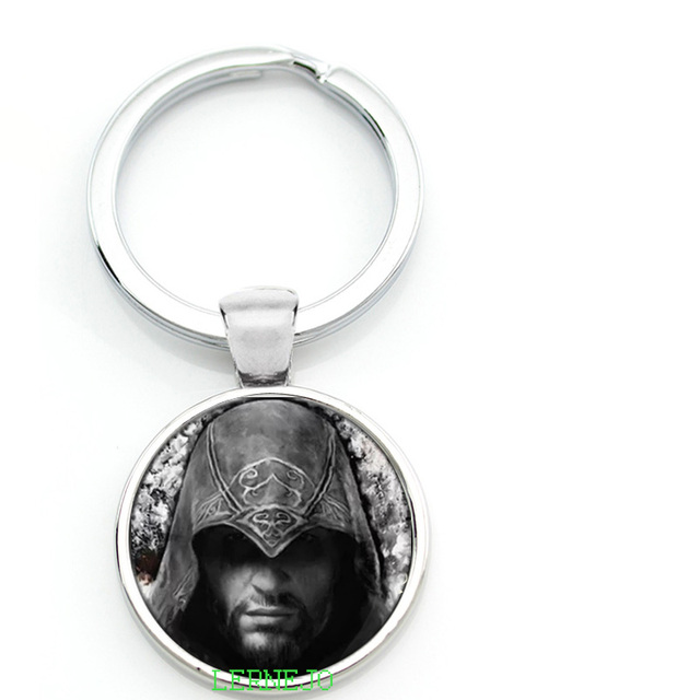 Assassin S Creed Key Chain Key Ring Black Flag Unity Arno Symbol