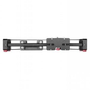 Image 2 - Nieuwe Professionele 40 Cm Schieten Video Track Slider Dolly Stabilizer Systeem Voor Canon Nikon Sony Pentax Dslr Camera Dv Camcorder