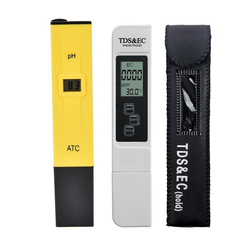 Digital PH Meter Quality Tester for Household Drinking Water Hydroponic LOT