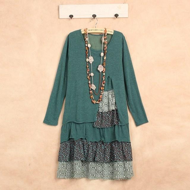 vestido longo de festa mori girl plus size lolita winter robe longue femme  cotton gothic kawaii 2cf36c422