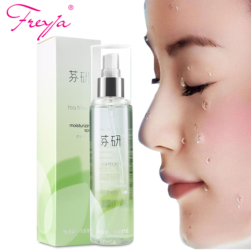 Freyja Facial Toner Moisturizing Spray Tea tree Moist face moisturizer Anti Aging Anti wrinkle Nourishes & Hydrates Face Care
