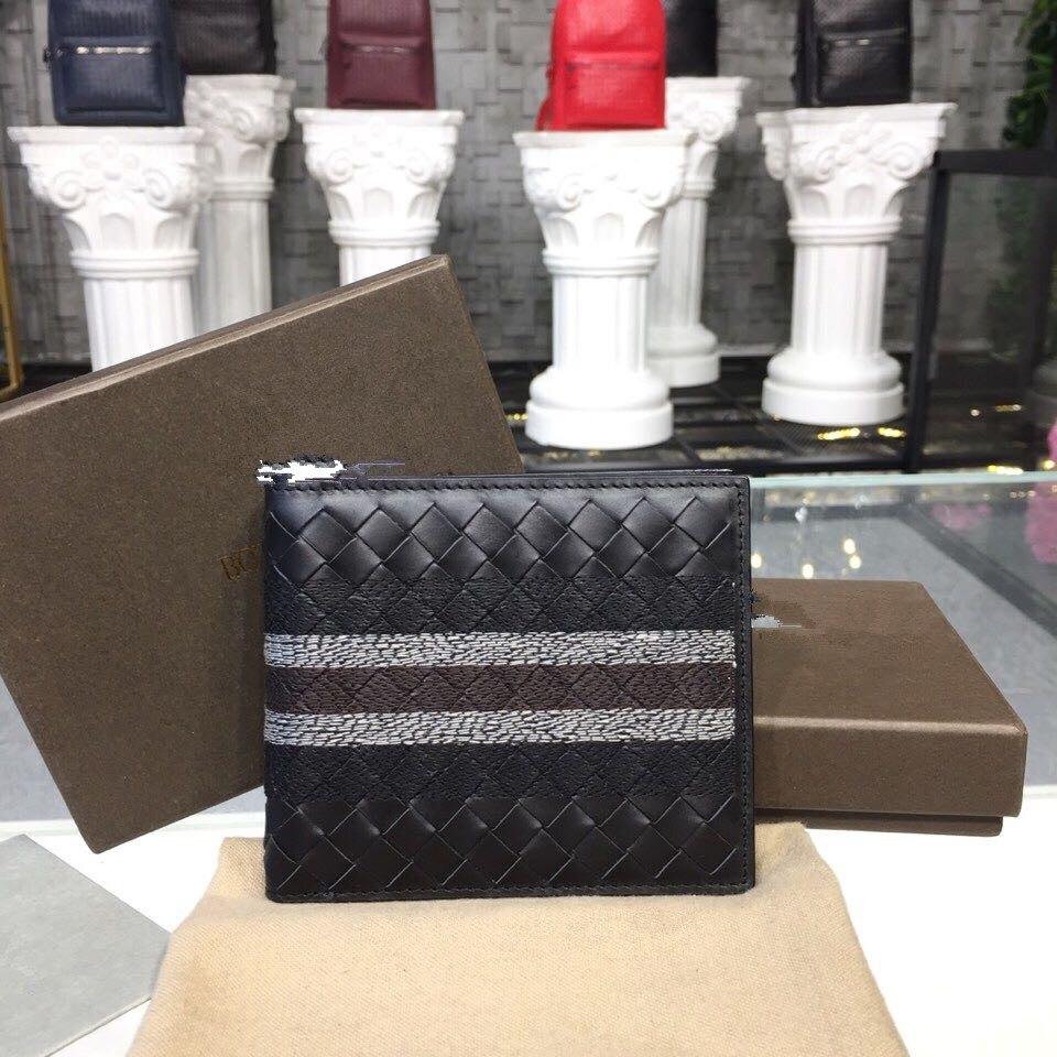 2019 男性財布革財布 & 財布デザイナーハンドバッグ高品質刺繍カードバッグ本革  グループ上の スーツケース & バッグ からの 財布 の中 1