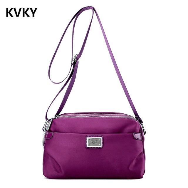 c50fbda9ffbc US $12.09 45% OFF|Women's Messenger Bags Ladies Nylon Handbag Travel Casual  Original Bag Shoulder Female High Quality Large Capacity Crossbody Bag-in  ...
