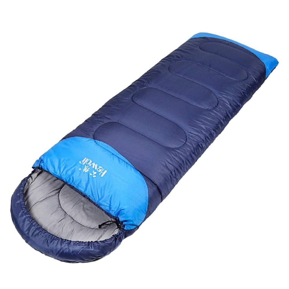 Hewolf For Child/Adult Foldable Portable Envelope Sleeping Bags Outdoor Water Resistant Soft Warm Sleeping Lazy Bag Free Ship