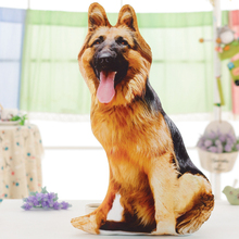 3D Dimensional wolfhound dog plush toy large 90cm squatting dog soft throw pillow,cushion birthday present Xmas gift c712