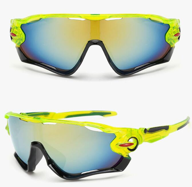 UV400 Outdoor Sport Cycling Bicycle Bike Riding Sun Glasses Eyewear Goggle Lens