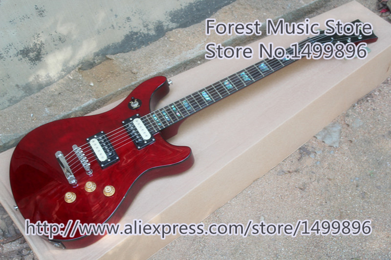 Hot Selling Glossy Red Finish Jak Matsumoto LP Standard Guitars Electric For Sale hot selling cheap price sg standard electric guitar bigpsy tremolo stain finish chinese guitars in stock for sale