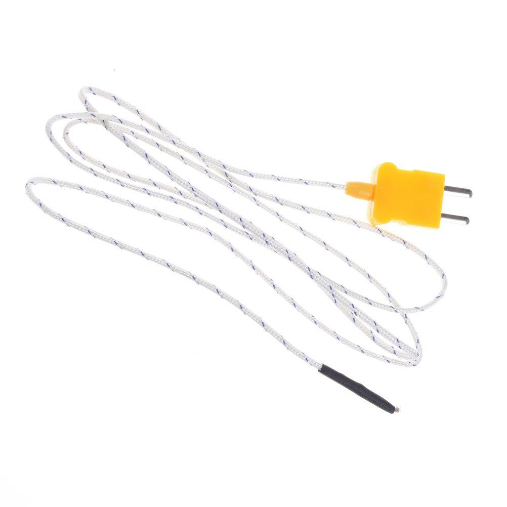 k type thermocouple temperature sensor 92cm wire thermocouple probe 20