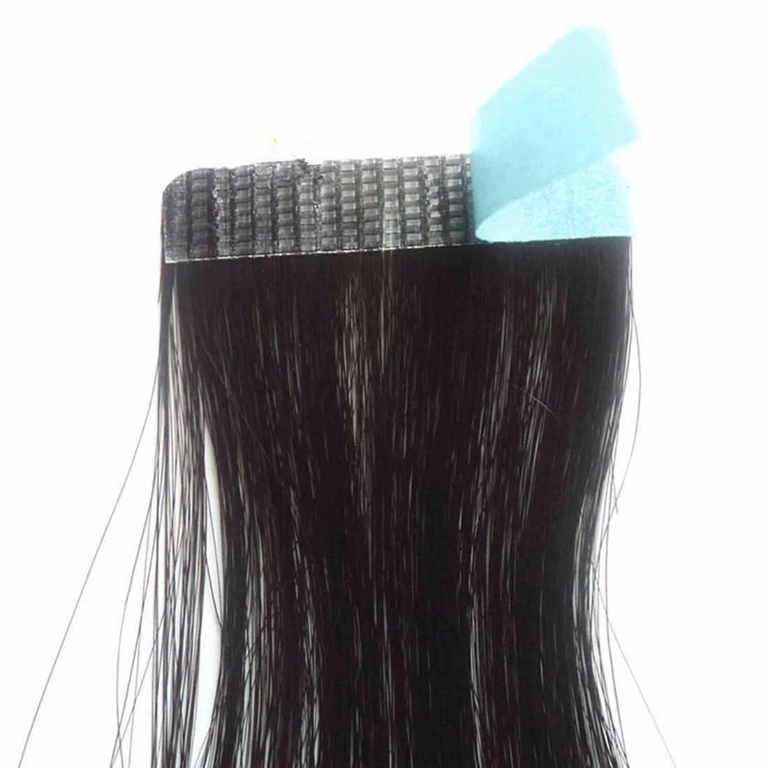 5 листов 60 штук пластыревый заменитель ленты водонепроницаемый двухсторонний волос лента для кружева парик Наращивание волос Инструменты