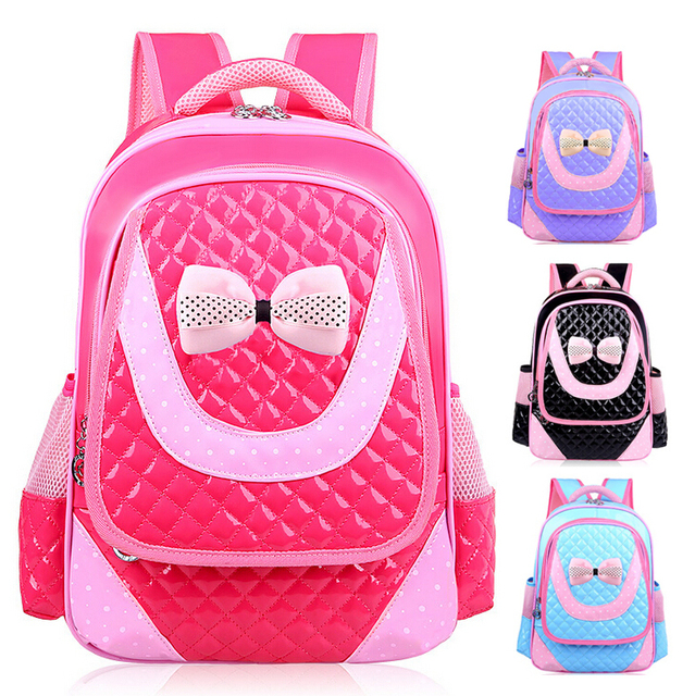 Children Girls Primary School Backpack Bookbag Kids Bags 038 Rose ...