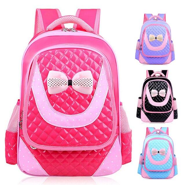 Children Girls Primary School Backpack Bookbag Kids Bags 038 Rose ...