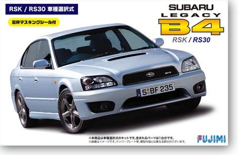1/24 Subaru Legacy B4 RSK/RS30 039321/24 Subaru Legacy B4 RSK/RS30 03932