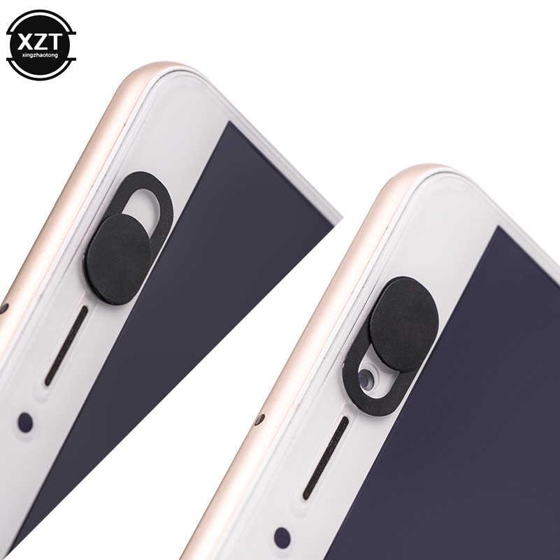 ユニバーサルウェブカメラカバーシャッターマグネットスライダープラスチック Ipad 用 Iphone タブレットプライバシーステッカー超薄型携帯電話ホテルの客室数