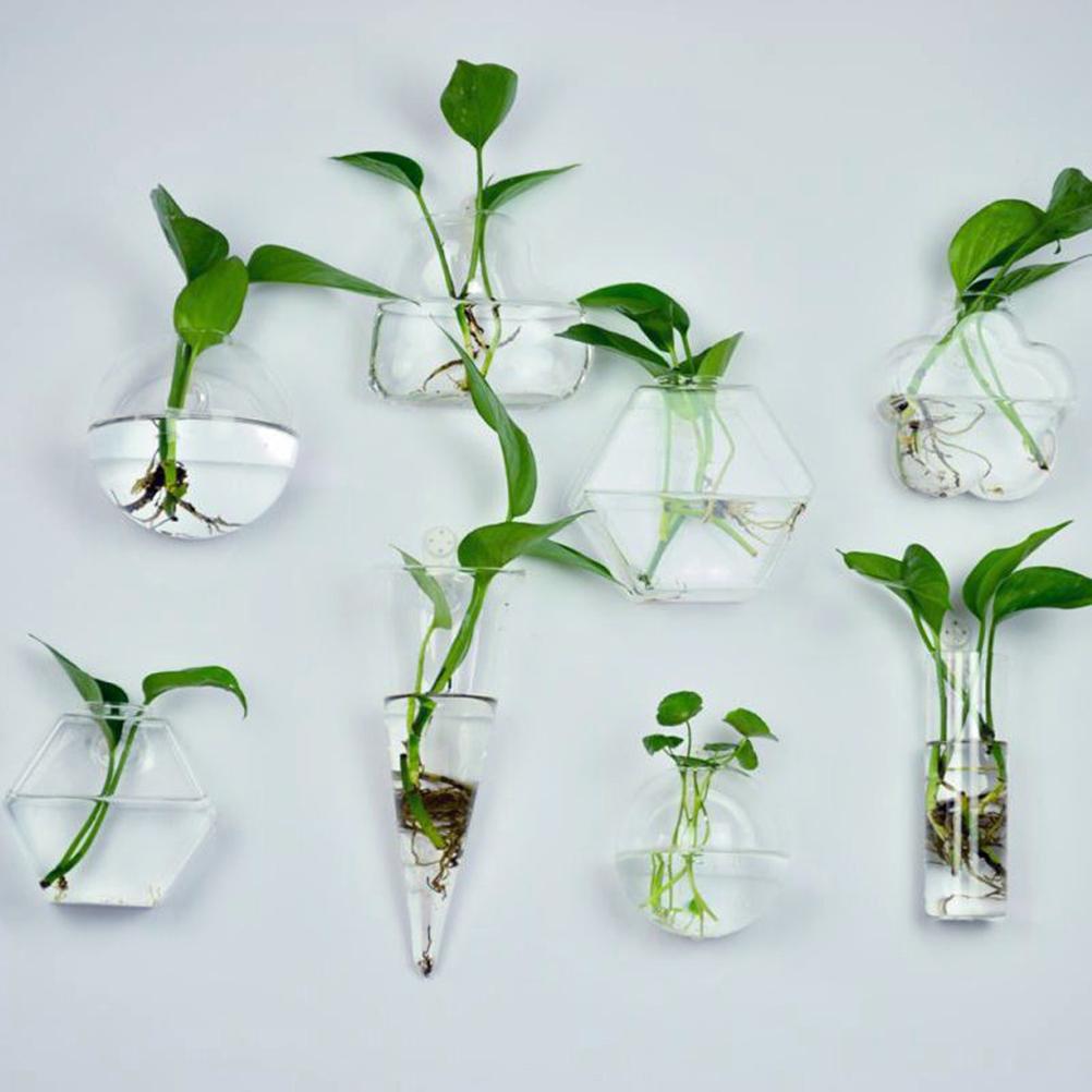 formas de bricolaje colgante clara de cristal del florero plantas terrario jarrn contenedor micro paisaje