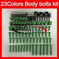 Fairing bolts full screw kit For KAWASAKI NINJA GTR1400 08 09 10 11 GTR 1400 2008 2009 2011 GTR 1400 Windscreen bolt screws Nuts