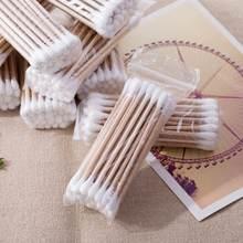 2 * упаковки одноразовые ватные палочки с двойным наконечником