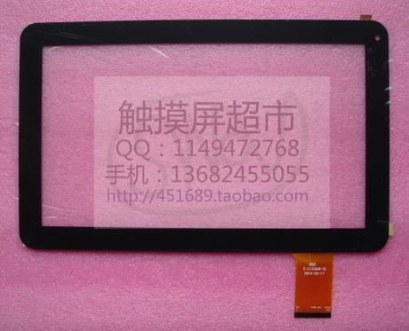 Black New 10.1 Best-Buy Easy Home tablet 10 Dual Core touch screen panel Digitizer Glass Sensor replacement QSD E-C10068-01 image