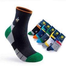 New Arrival 5 Pairs Men's Cotton Men's Boat Pinstripe Socks Casual Business PIER POLO Men's Sock Brand Mens Socks free shipping