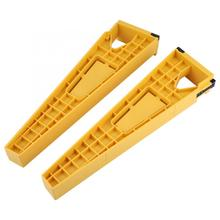 цена на 2pcs Drawer Slide Jig Positioning Holders Mounting Tool Cabinet Drawer Track Installation Jig broca Clamps Fasteners