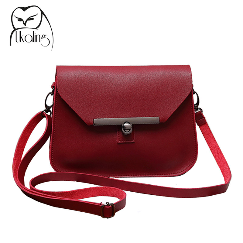UKQLING Small Women Messenger Bags Flap Handbag Soft PU Women Bag Lady PU Leather Purse Cheap Crossbody Bags for Girls 5 Colors new designer brand cute small messenger bag small handbag girl 3 colors crossbody bag lady female women messenger bags gift