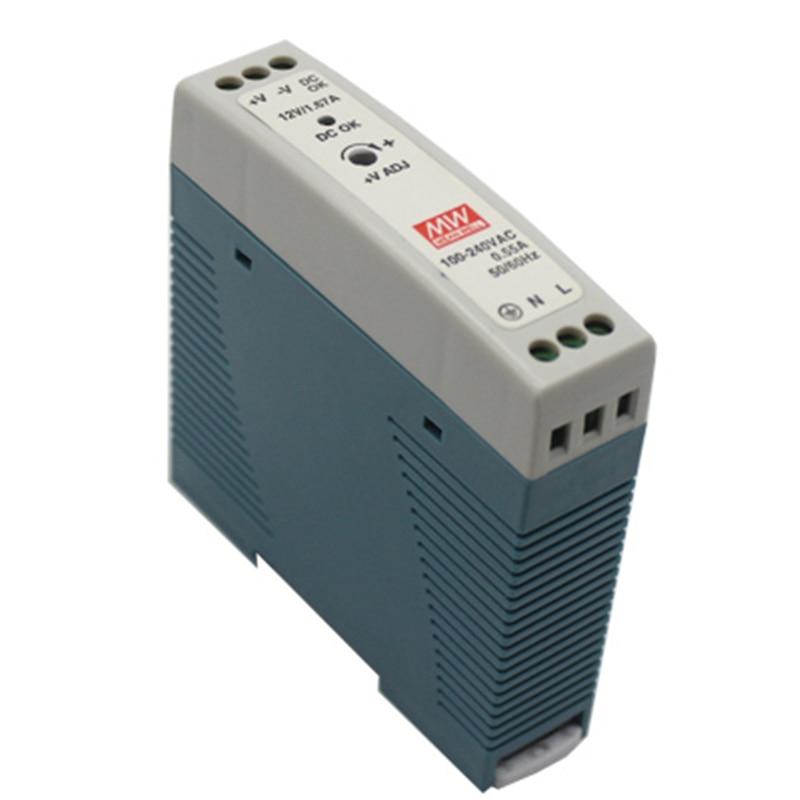 MDR-10 10W Single Output 5V 12V 15V 24V Din Rail Switching Power Supply AC//DC