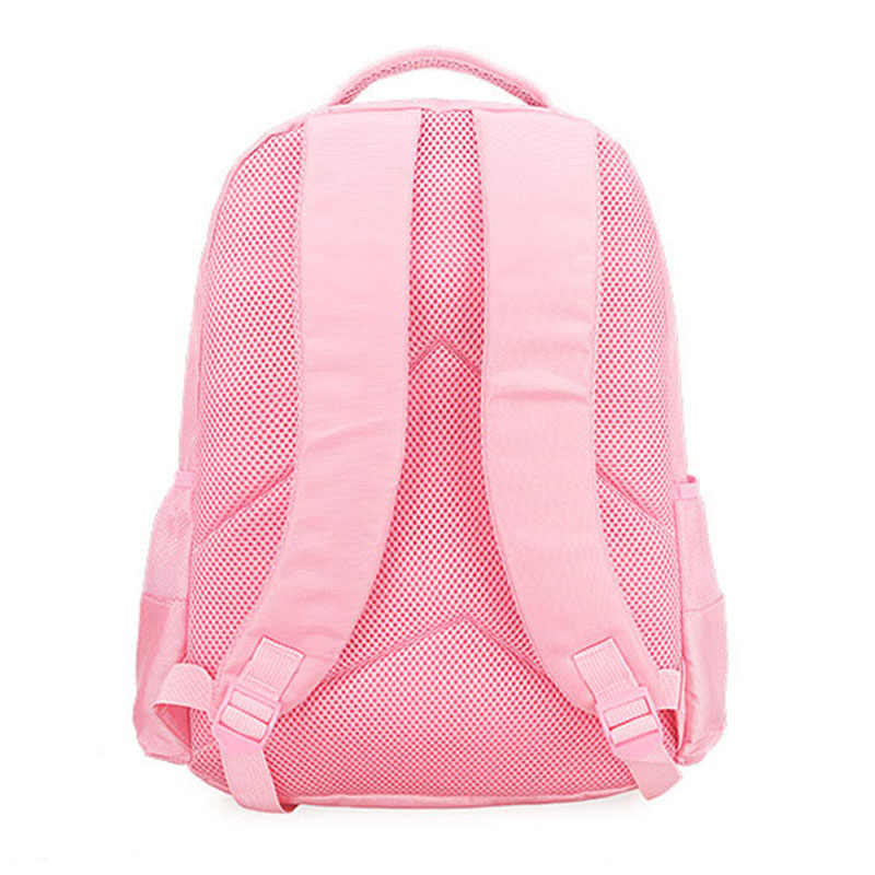 Portfolio School Bags For Girls 2019 Sweet Cute Cartoon Princess Cat Children Backpack Kids Lace Bookbag Primary School Backpack
