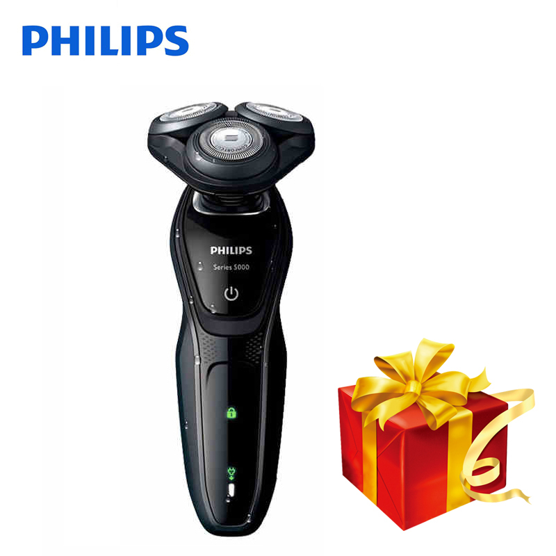 Professional Philips Electric Shaver S5079 Rotary Rechargeable Body Wash Electric Razor With Comfortable Shaving System For