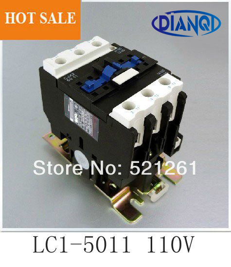 CJX2-5011 LC1 5011 ac contactor 24V 36V 110V 220V 380V AC 50a 50HZ/60HZ orginal lc1-5011 110v цена
