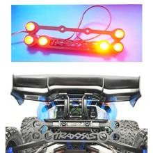 RC Car Upgrade PART Nylon Rear Bumper Rear LED Taillight Light Lamp for 1/10 NEW Traxxas ERevo E-Revo 2.0