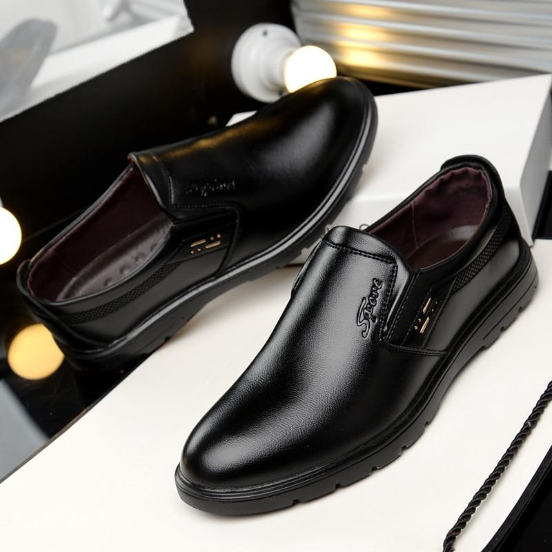 Noir Nouveau Marque Casual Confortable jaune Hommes on marron Chaussures Slip Mocassins Automne 2018 Appartements Mode Printemps O5aPdOq