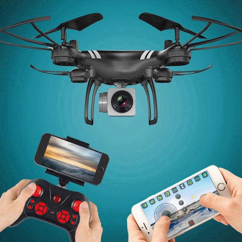 Selfie Drone Avec Caméra Drone WIFI FPV Quadcopter Mini RC Hélicoptère Un Retour Key Copter Enfants Quadrocopter Jouets VS x5sw