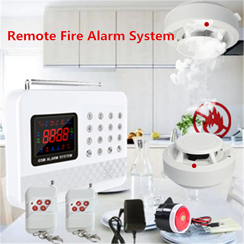 Wireless home smoke alarm smoke detector fire fire alarm with alarm remote alarm fire prevention system free shipping wireless smoke detector fire alarm sensor work with g90b plug wifi smart home alarm system