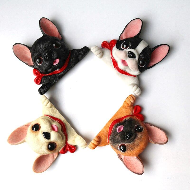 3D resin dogs socket decoration bulldog wall hanging Home bar Furnishing craft TV background craft decoration
