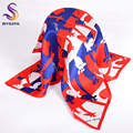 Lovely Deer Small Square Scarves New Accessories 100% Pure Silk Ladies Silk Muffler Spring Autumn Female Small Scarfs 55*55cm