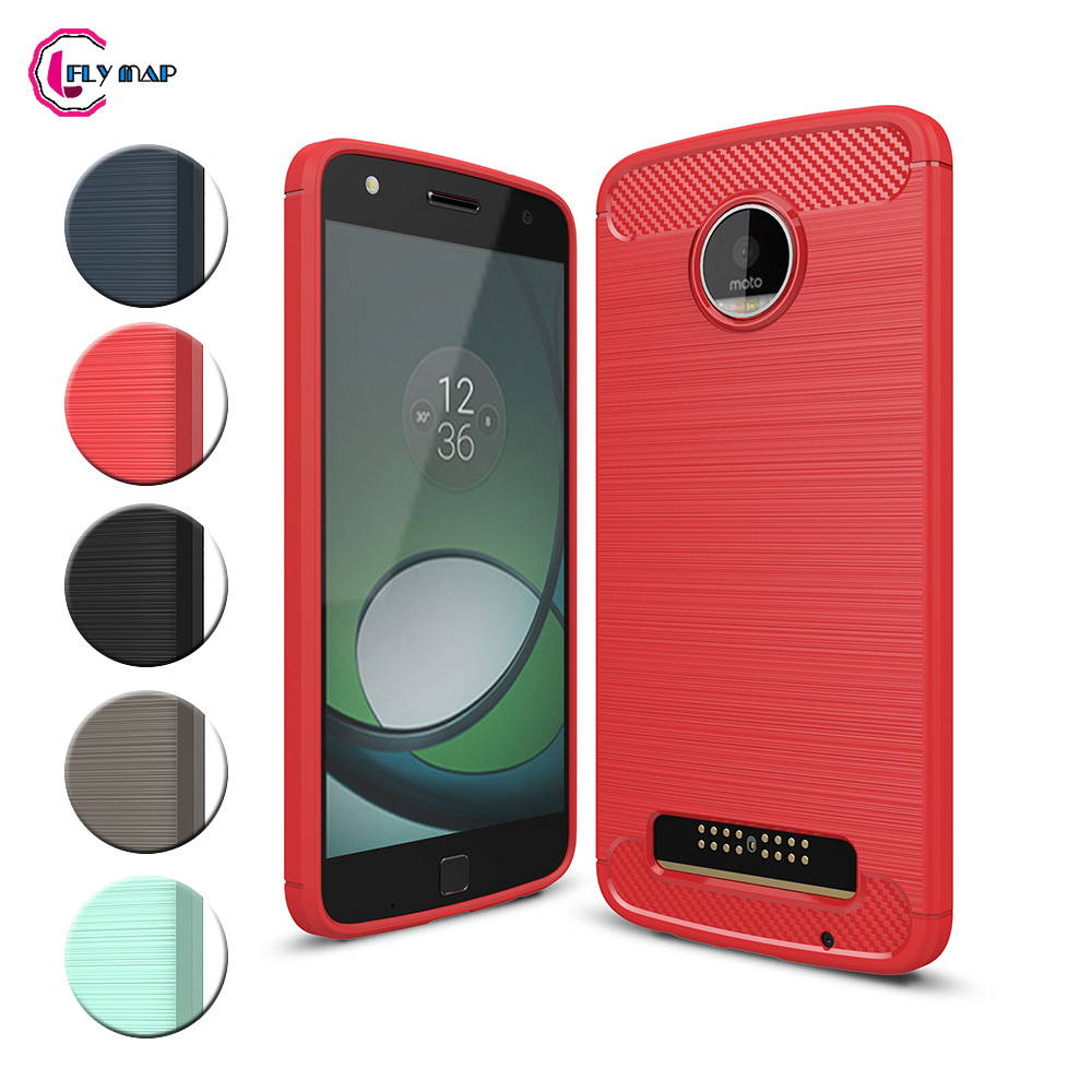 TPU Case for Motorola <font><b>Moto</b></font> <font><b>Z</b></font> <font><b>Play</b></font> <font><b>XT1635</b></font> <font><b>XT1635</b></font>-<font><b>02</b></font> Soft Silicone Carbon Fibe Case Mobile Phone Cover for <font><b>Moto</b></font> ZPlay <font><b>XT1635</b></font>-03 image