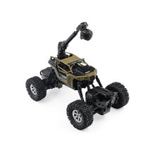 171604B 2.4GHZ RC Car 1:16 WIFI FPV 0.3MP Camera Car 4WD/2WD Splash Waterproof RTR Electrict RC Crawler Off-road Car SUV(China)