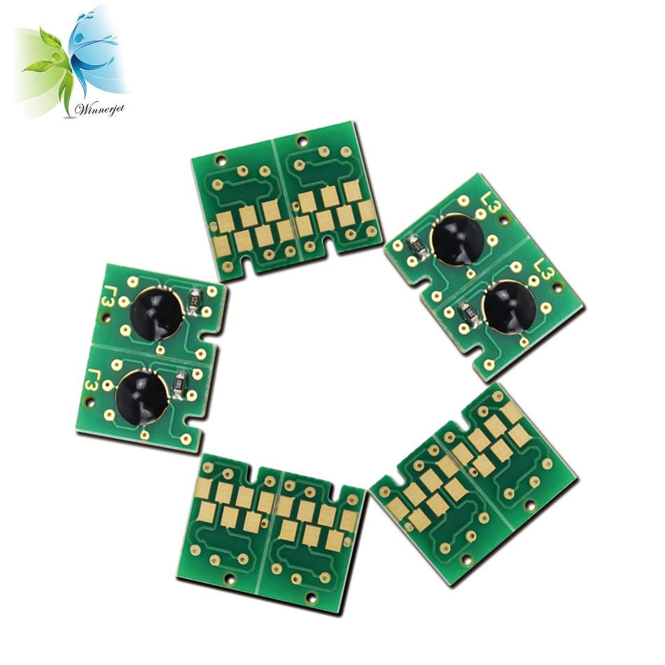 WINNERJET 2sets/lot T5441-T5448 Resettable Chip For Epson 4000 Large Format Printer