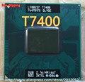 Lntel laptop CPU Core 2 Duo T7400 CPU originais 4 M Socket 479 Cache/2.16 GHz/667/Dual-Core (trabalhando 100% Frete Grátis)