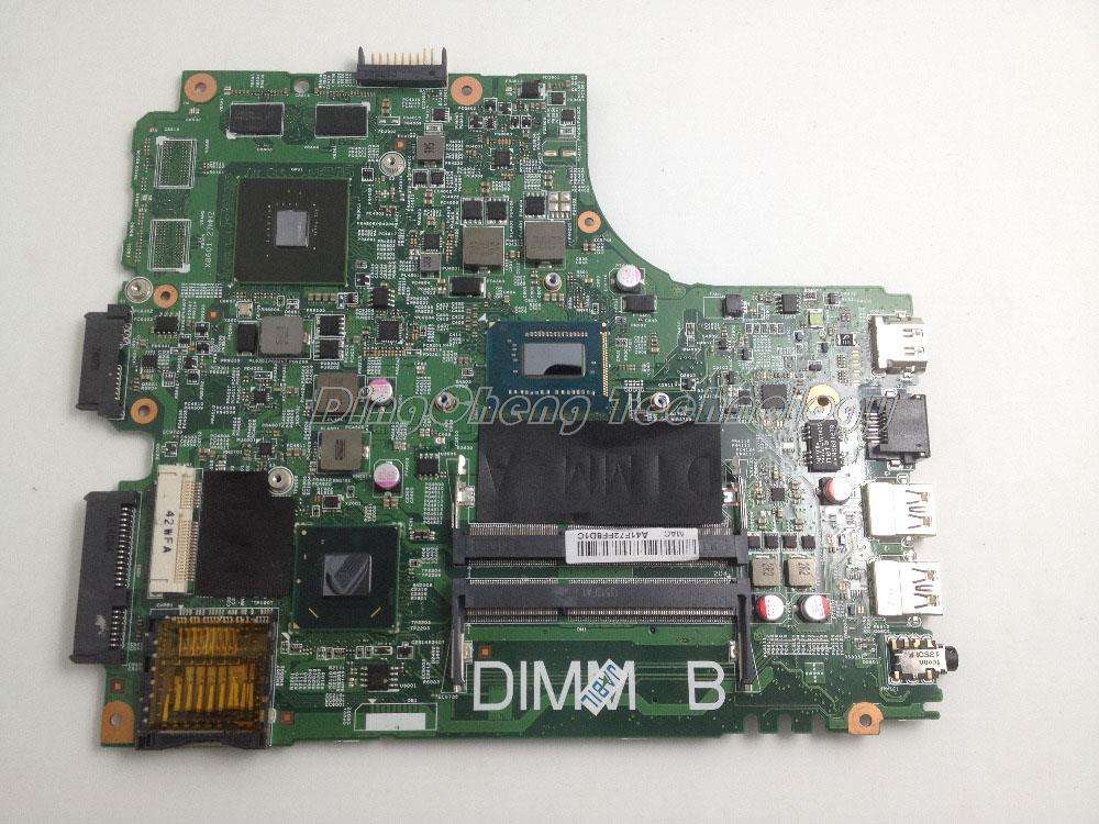 HOLYTIME laptop Motherboard/mainboard for <font><b>dell</b></font> 14R <font><b>3421</b></font> 5421 CN-055NJX 055NJX 55NJX <font><b>I5</b></font>-3337U CPU GT625M GPU 100% full tested image